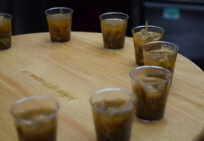 chicken pepper soup shot